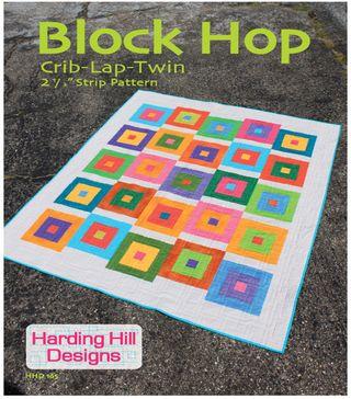 Block Hop Cover