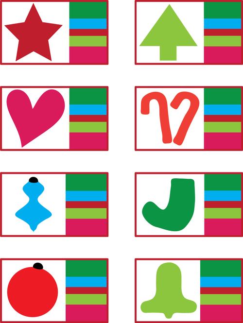 Holiday Mug rug layouts