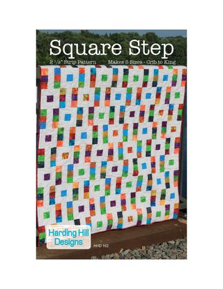Square Step Full Page PDF Layout Harding Hill