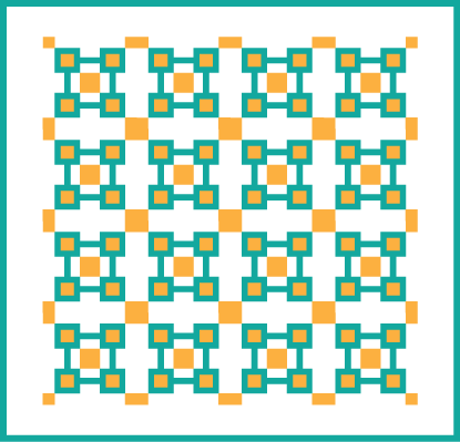 100 Blocks Layout 8