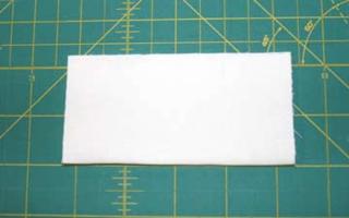 Bckgrnd fabric second fold