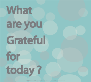What are you grateful for? Harding Hill Designs