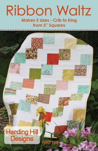Harding Hill Designs Ribbon Waltz Quilt Pattern Final Cover