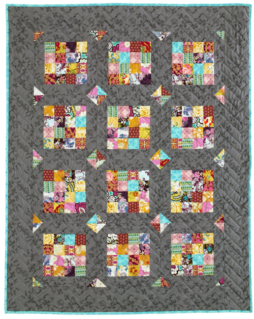 Harding Hill Designs Paris Square Quilt