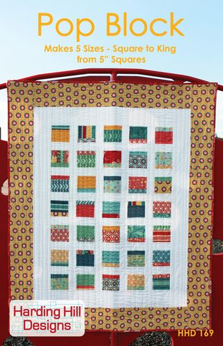 Harding Hill Designs Pop Block Quilt Pattern Final Cover