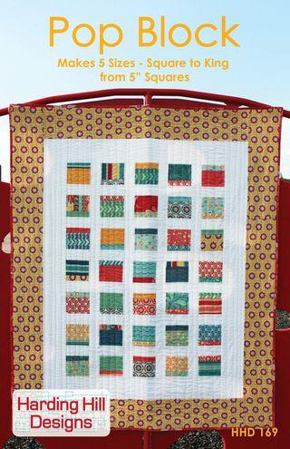 Harding Hill Designs Pop Block Quilt Pattern Final Cover