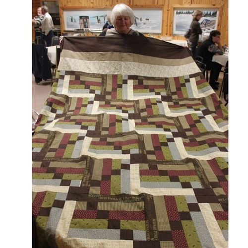 Earth Tone Quilt Harding Hill Designs Bingo Block