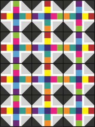 Harding Hill Designs Scrappy Block Layout 100 Blocks Vol 11
