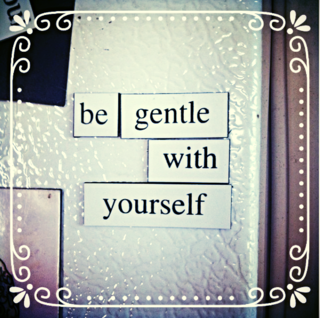 Harding Hill Designs - Be gentle with yourself