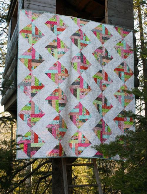 Harding Hill Designs - Zigged Paths Pattern - One Block Remix Pattern Book