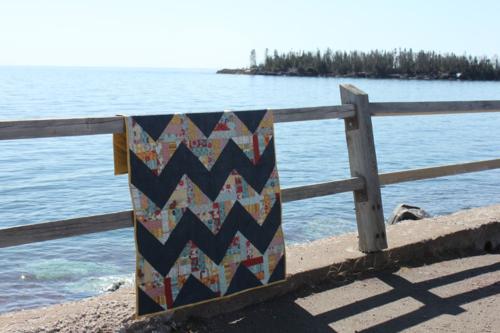 Harding Hill Designs - One the Horizon Pattern - One Block Remix Quilt Pattern Book