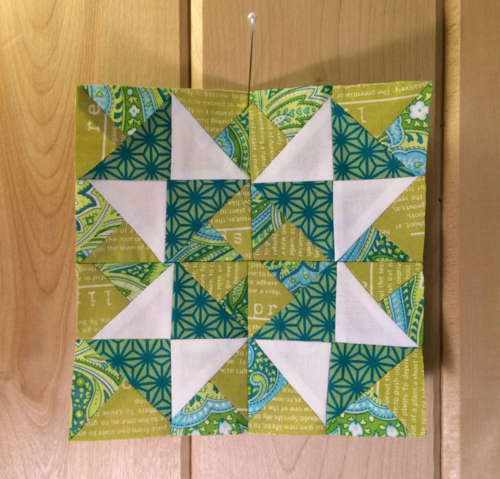Harding Hill Designs Sampler block 1